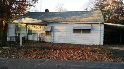 Millville Single Family Home For Sale: 5705 Ward Ave