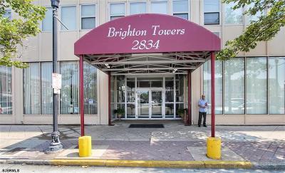 Atlantic City Condo/Townhouse For Sale: 2834 Atlantic Ave Unit #304 #304