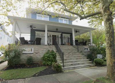 Atlantic City, Longport, Longport Borough, Margate, Ventnor, Ventnor Heights Rental For Rent: 26 N Richards Ave