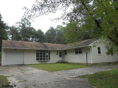 Millville Single Family Home For Sale: 2910 Monroe Street