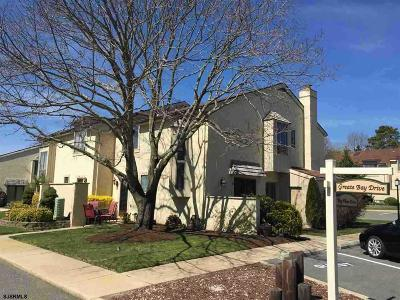 Somers Point Condo/Townhouse For Sale: 80 Greate Bay Dr #80
