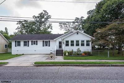 Somers Point Single Family Home For Sale: 322 Rhode Island Ave