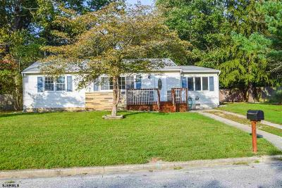 Egg Harbor Township NJ Single Family Home For Sale: $179,900