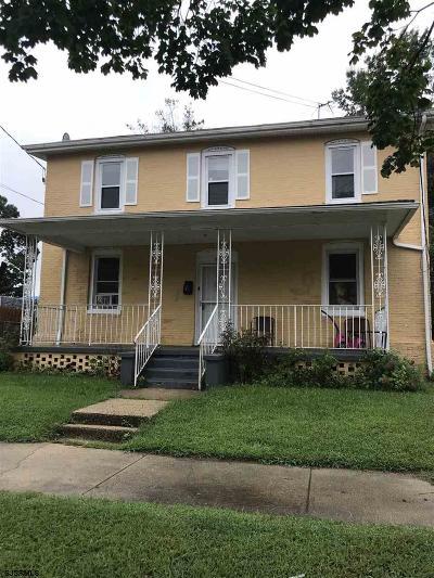 Vineland Multi Family Home For Sale: 815 E Cherry St
