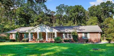 Vineland Single Family Home For Sale: 645 S Blue Bell Rd Road