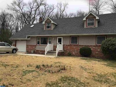 Vineland Single Family Home For Sale: 1944 Roosevelt Blvd Blvd