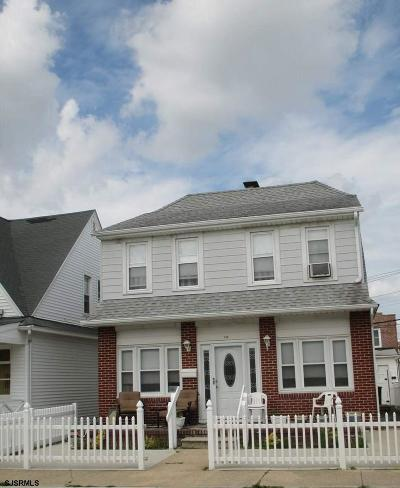 Atlantic City Single Family Home For Sale: 113 N Laclede Pl
