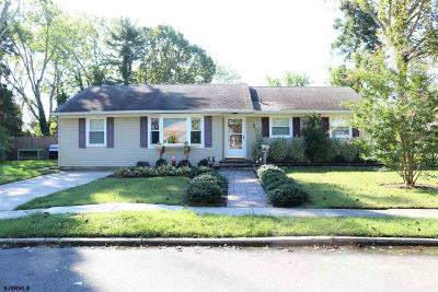 Somers Point Single Family Home For Sale: 5 Princeton Road