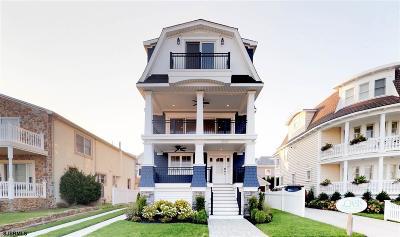 Longport Single Family Home For Sale: 3307 Atlantic Ave
