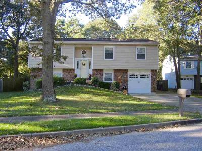 Somers Point Single Family Home For Sale: 62 Defeo Ln