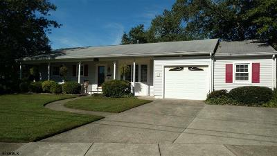 Somers Point Single Family Home For Sale: 8 Malvern