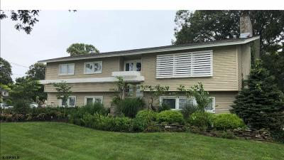 Somers Point Single Family Home For Sale: 1 Braddock Dr