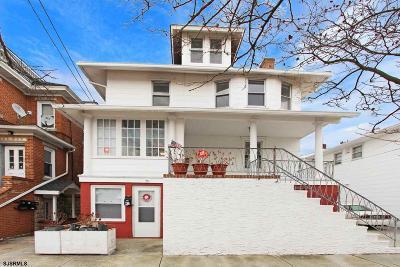 Atlantic City, Longport, Longport Borough, Margate, Ventnor, Ventnor Heights Rental For Rent: 7 N Rosborough Ave