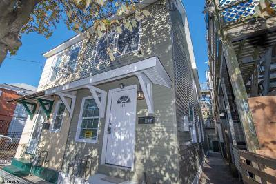 Atlantic City Single Family Home For Sale: 103 N Florida Ave Ave