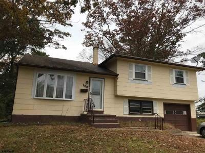 Somers Point Single Family Home For Sale: 152 Jordan Rd Road