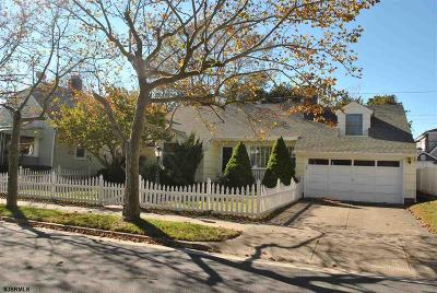 Atlantic City, Longport, Longport Borough, Margate, Ventnor, Ventnor Heights Rental For Rent: 104 N Nassau Ave
