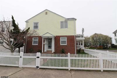 Atlantic City, Longport, Longport Borough, Margate, Ventnor, Ventnor Heights Rental For Rent: 306 N Harding Avenue