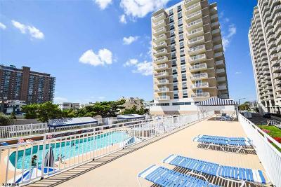 Atlantic City Condo/Townhouse For Sale: 101 S Plaza #504 #504