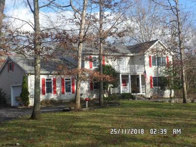 Mays Landing Single Family Home For Sale: 5761 Cedar Ave