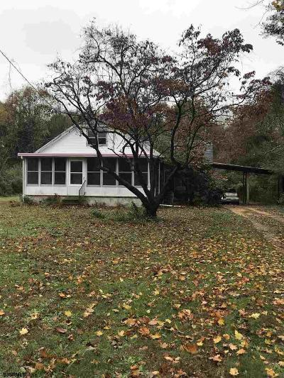 Vineland Single Family Home For Sale: 1271 Forest Grove Rd