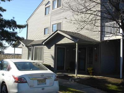 Somers Point Condo/Townhouse For Sale: 101 Bay Meadow 598 Somers Point Mays Landing Road #101