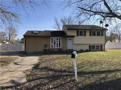 Vineland Single Family Home For Sale: 2912 Rome Road