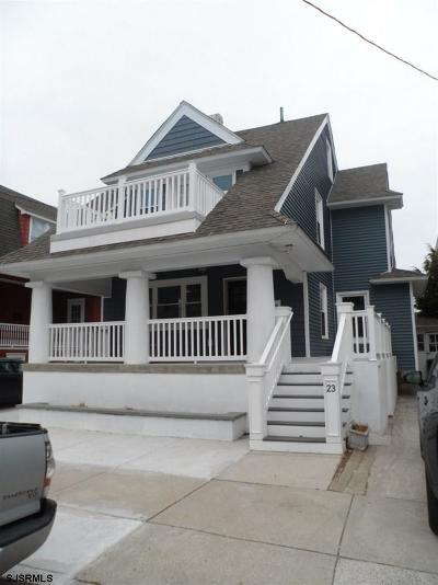 Atlantic City, Longport, Longport Borough, Margate, Ventnor, Ventnor Heights Rental For Rent: 23 S Nashville Ave