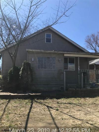 Vineland Single Family Home For Sale: 717 Florence