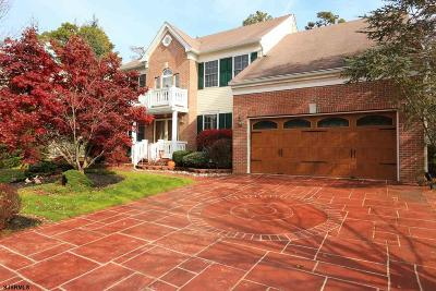 Mays Landing Single Family Home For Sale: 45 Chancellor Park Drive