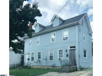 Millville Multi Family Home For Sale: 10-12 W Broad Street Street