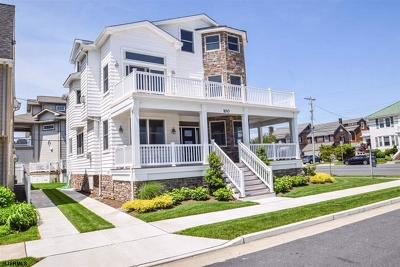 Margate NJ Single Family Home For Sale: $2,295,000