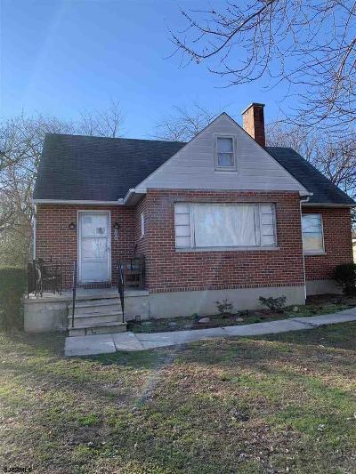 Vineland Single Family Home For Sale: 907 Washington Ave Ave