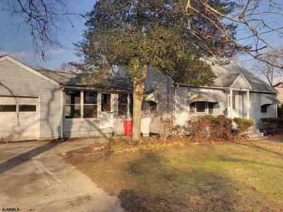 Vineland Single Family Home For Sale: 318 Mount Vernon