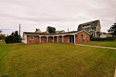 Brigantine Single Family Home For Sale: 111 26th St S Street