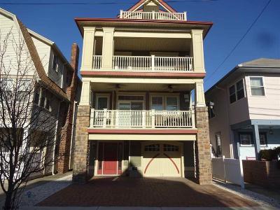 Ocean City Single Family Home Back On Market: 827 St. James