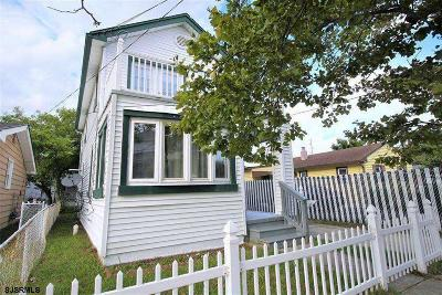 Atlantic City Single Family Home For Sale: 1605 Beach Ave