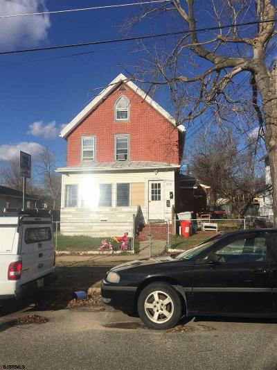 Vineland Multi Family Home For Sale: 728 E Quince St Street
