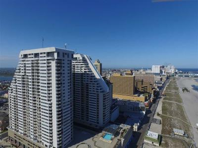 Atlantic City Condo/Townhouse For Sale: 3101 Boardwalk #2908-1