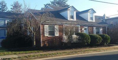 Atlantic City, Longport, Longport Borough, Margate, Ventnor, Ventnor Heights Rental For Rent: 8606 Monmouth Ave