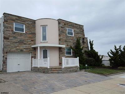 Atlantic City, Longport, Longport Borough, Margate, Ventnor, Ventnor Heights Rental For Rent: 109 S Vendome Ave