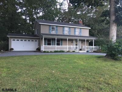Beesleys Point Single Family Home For Sale: 3 Alexandria Ct