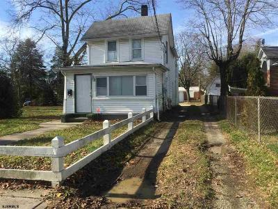 Vineland Multi Family Home For Sale: 838 E Cherry St Street