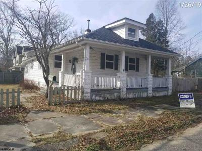 Millville Single Family Home For Sale: 501 W Race St Street
