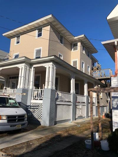 Atlantic City Multi Family Home For Sale: 37 S Kingston Ave