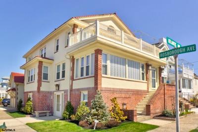 Atlantic City, Longport, Longport Borough, Margate, Ventnor, Ventnor Heights Rental For Rent: 6907 Atlantic Ave