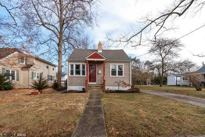 Somers Point Single Family Home For Sale: 153 W Dawes Ave