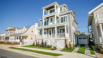 Margate NJ Single Family Home For Sale: $2,249,000