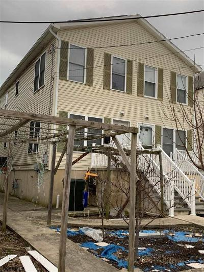 Atlantic City Single Family Home For Sale: 43 N Trenton Ave # A