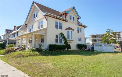 Atlantic City, Longport, Longport Borough, Margate, Ventnor, Ventnor Heights Rental For Rent: 114 S Ridgeway Ave