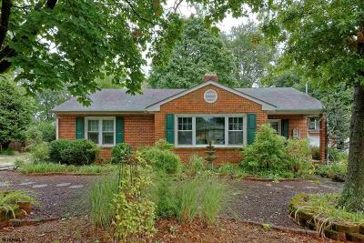 Vineland Single Family Home For Sale: 513 Sylvester Dr